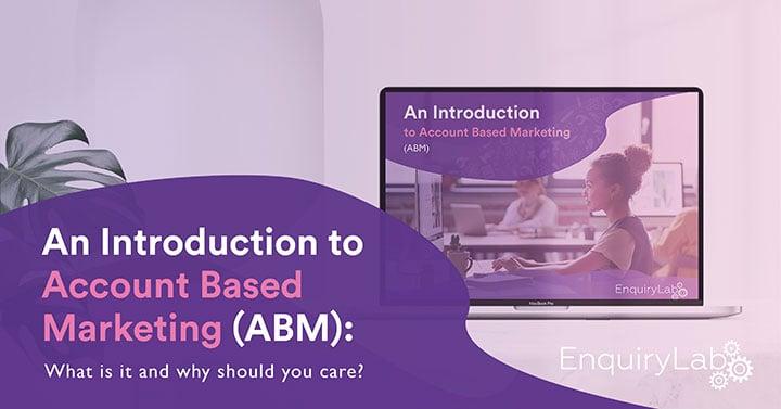 EnquiryLab account based marketing ebook image